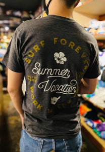 MENS SUMMER VACATION TEE