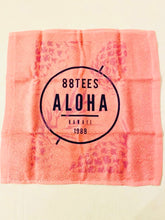 Load image into Gallery viewer, ALOHA PINAPPLES FACE TOWEL