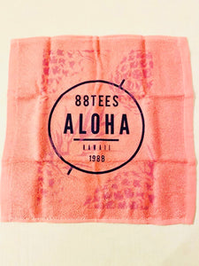 ALOHA PINAPPLES FACE TOWEL