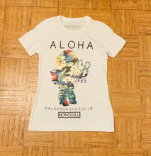 Load image into Gallery viewer, WOMENS YAYA FLORAL SILHOUETTE TEE