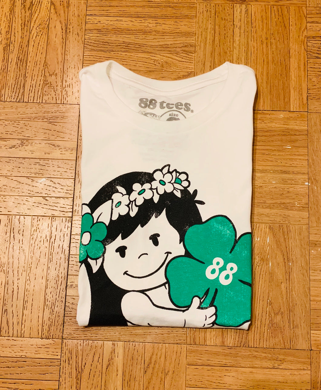 WOMENS LUCKY LIVE HAWAII TEE