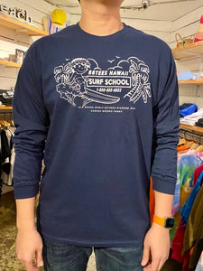 UNISEX SURF INSTRUCTOR LONGSLEEVE TEE