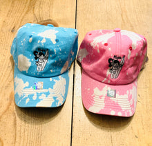 Load image into Gallery viewer, UNISEX EMBROIDERED TIE DYE BASEBALL CAP