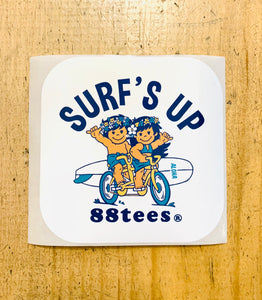 SURF'S UP STICKER