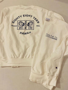 UNISEX CHAMPION ALOHA WAIKIKI SWEATER