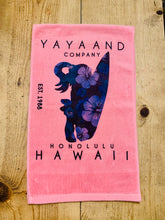 Load image into Gallery viewer, YAYA AND HAWAII SPORTS TOWEL