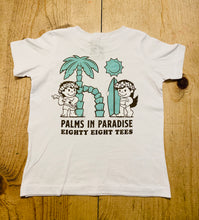 Load image into Gallery viewer, KIDS PALMS IN PARADISE TEE