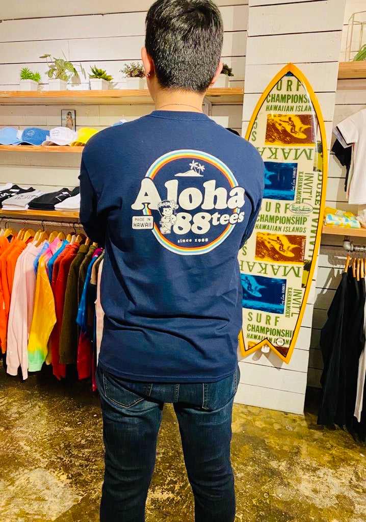 UNISEX ALOHA MADE IN HAWAII LONGSLEEVE TEE