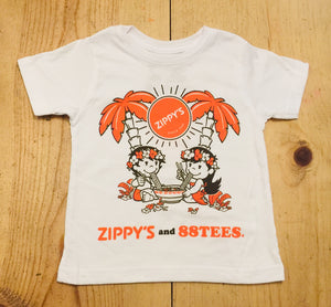 KIDS ZIPPY'S AND 88TEES TEE