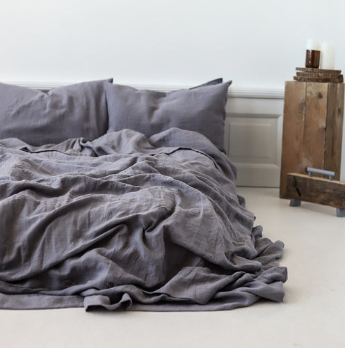 Fitted Sheet Neutral Grey