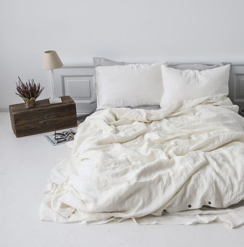 Fitted Sheet Off White
