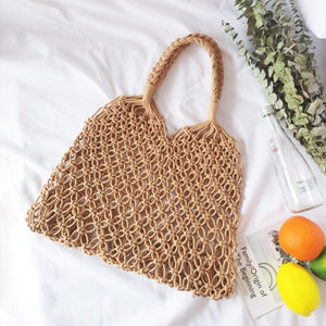 Weaving Tie Rope Bag