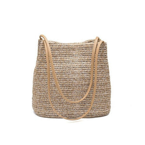 Weaving Bucket Beach Bags