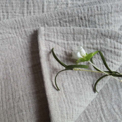 Linen Thickening Double Layer Fabric Luxury Towel