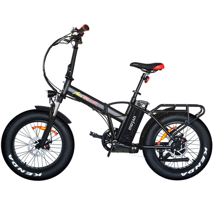 Addmotor Motan M150 P7 750W Folding Fat Tire Black eBike l Watt Fleet
