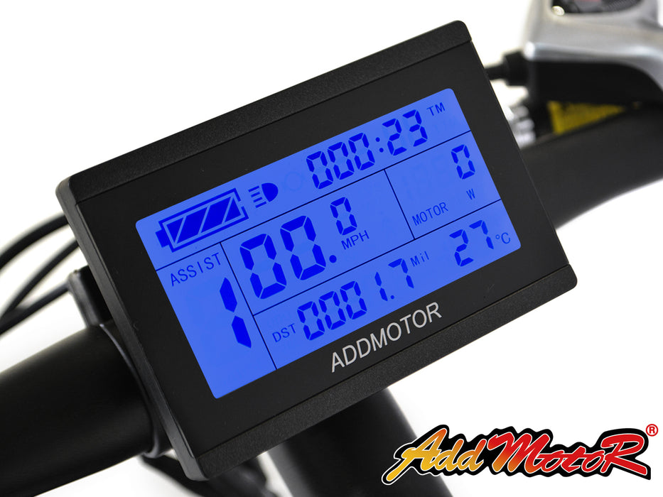 Addmotor HitHot H1 Electric Mountain Bike LCD l Watt Fleet