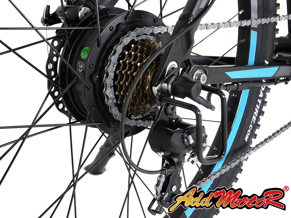 Addmotor HitHot H1 Electric Mountain Bike Motor l Watt Fleet