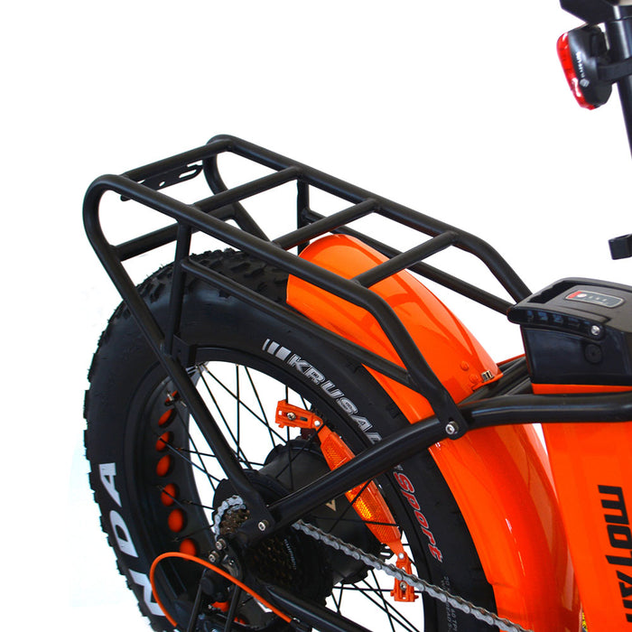 Addmotor Motan M150 P7 750W Folding Fat Tire Rear Rack eBike l Watt Fleet