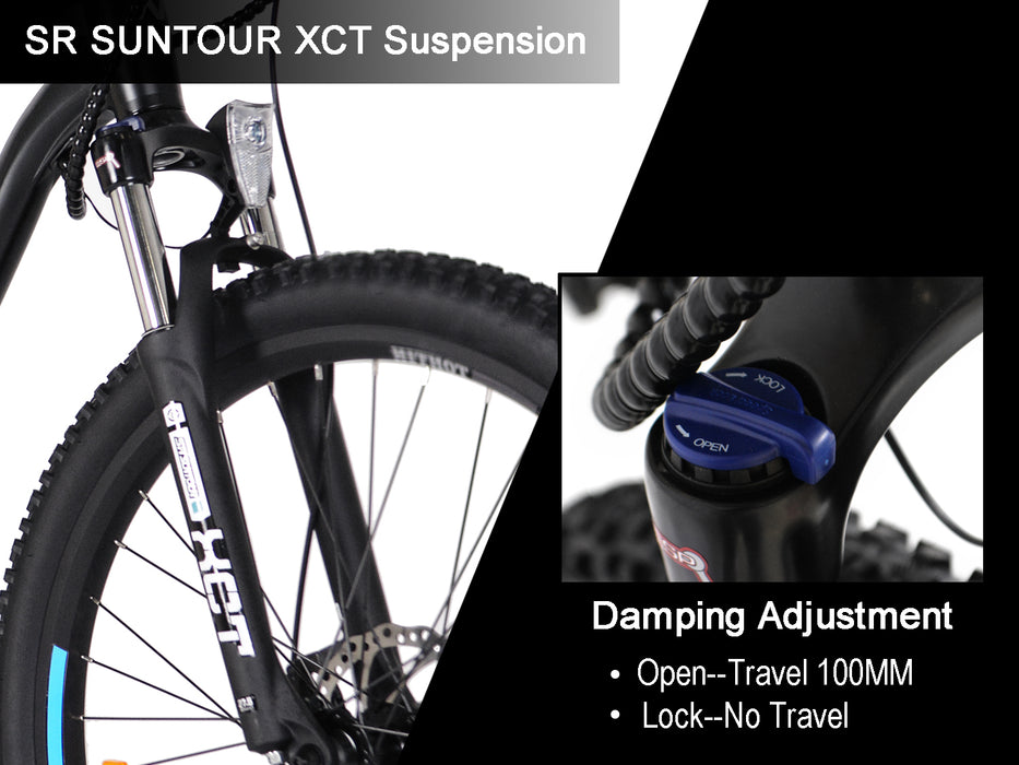 Addmotor HitHot H1 Electric Mountain Bike Suspension l Watt Fleet