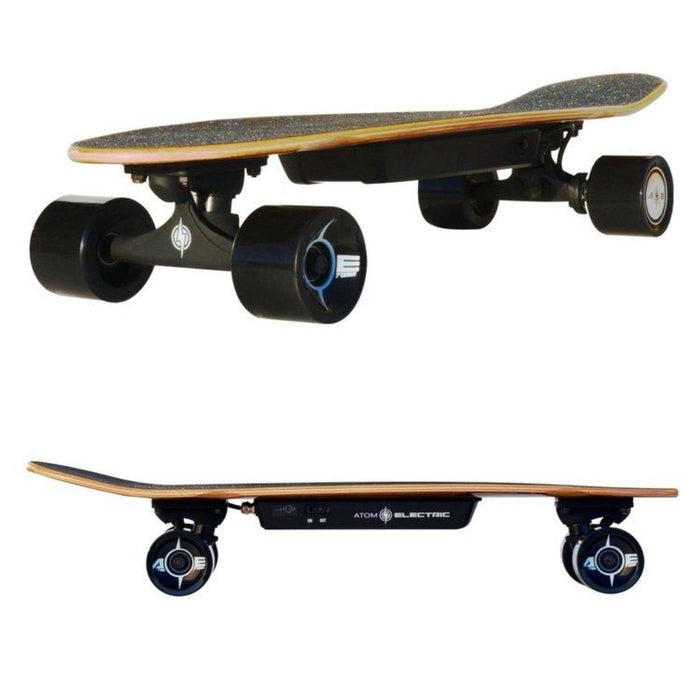 Atom Electric H4 Skateboard Profile Views l Watt Fleet