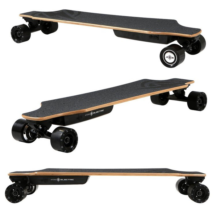 Atom Electric H10 Longboard Flat Angles top l Watt Fleet