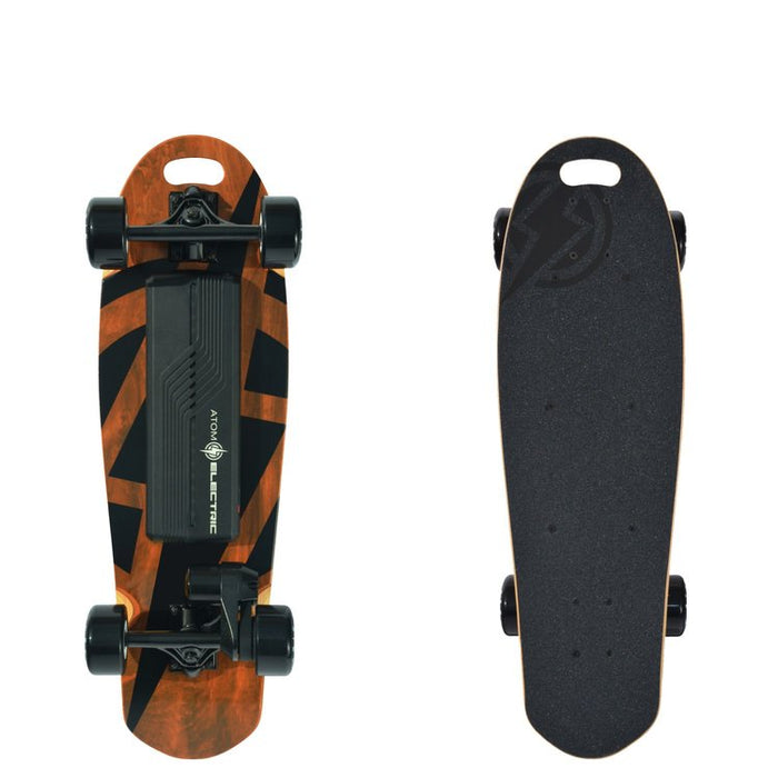 Atom Electric B10 Skateboard Top and Bottom l Watt Fleet