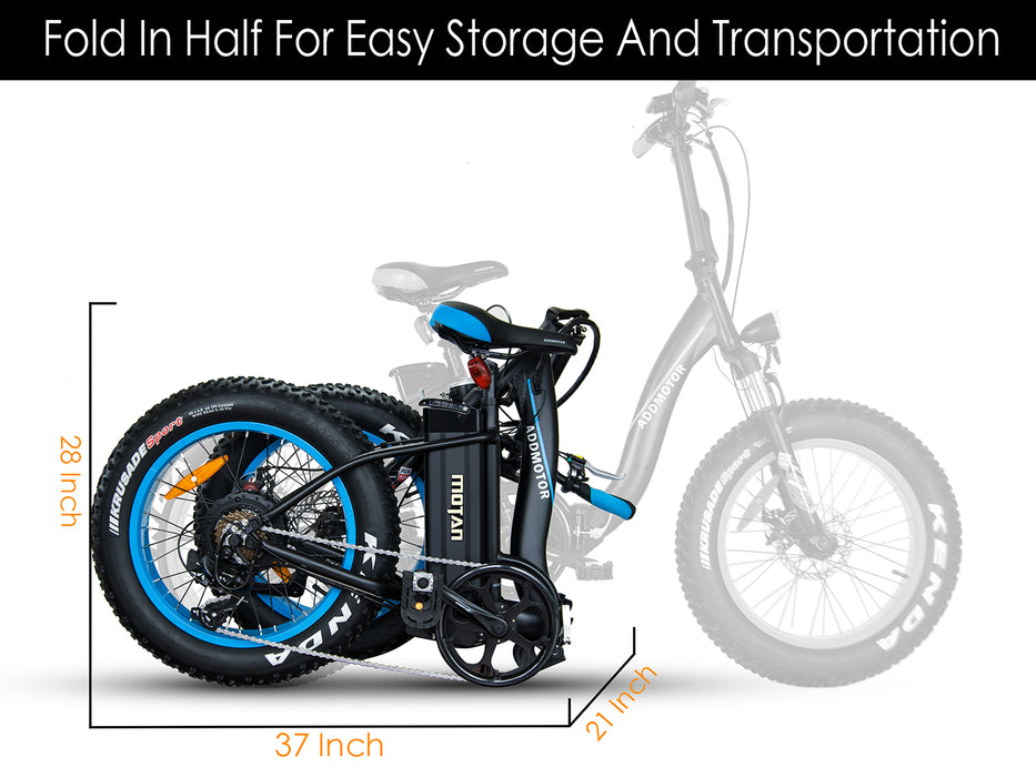 Addmotor Motan M140 Folding Electric Bike l Watt Fleet