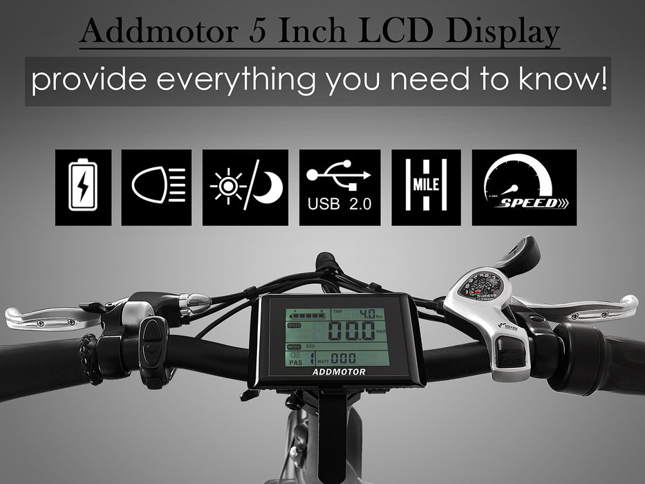 Addmotor Motan M140 Folding Electric Bike LCD l Watt Fleet