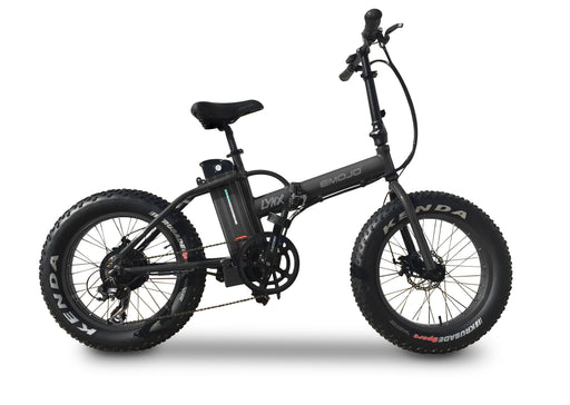 Emojo Lynx Folding Fat Tire eBike Black l Watt Fleet