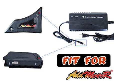 Addmotor Extra Battery Charger  M50,60,250,450,550,560,850,5800, H1,2,5 l Watt Fleet