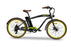 Emojo Hurricane Beach Cruiser eBike Black l Watt Fleet