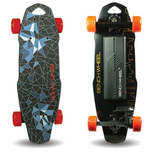 Benchwheel D1 Electric Skateboard Front Back l Watt Fleet