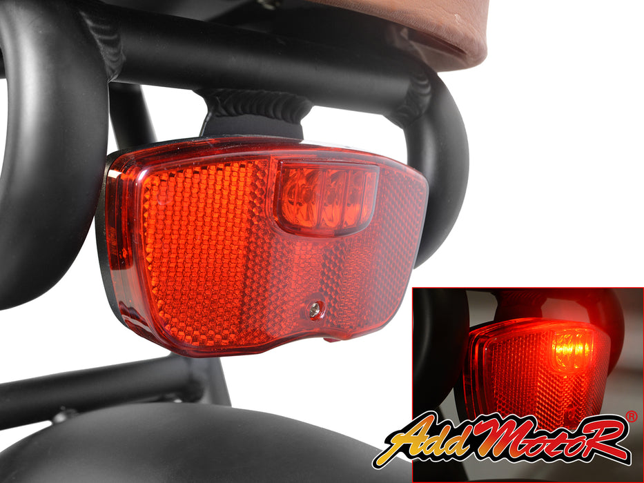 Addmotor Motan M60 Retro Cruiser eBike Rear Light l Watt Fleet