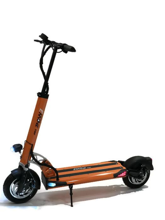 EMOVE Cruiser 52V 1600W Dual Suspension Foldable Orange eScooter l Watt Fleet