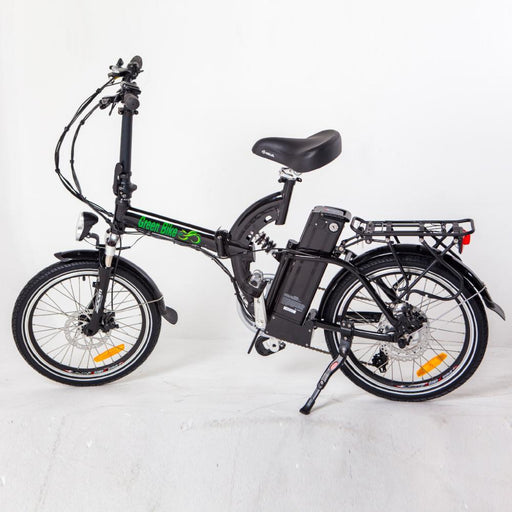 Green Bike USA GB5 350W Folding Full Suspension Black eBike l Watt Fleet