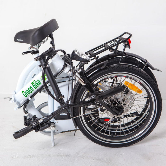 Green Bike USA GB5 350W Folding Full Suspension Folded eBike l Watt Fleet