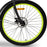 Emojo Hurricane Beach Cruiser eBike Front Tire l Watt Fleet