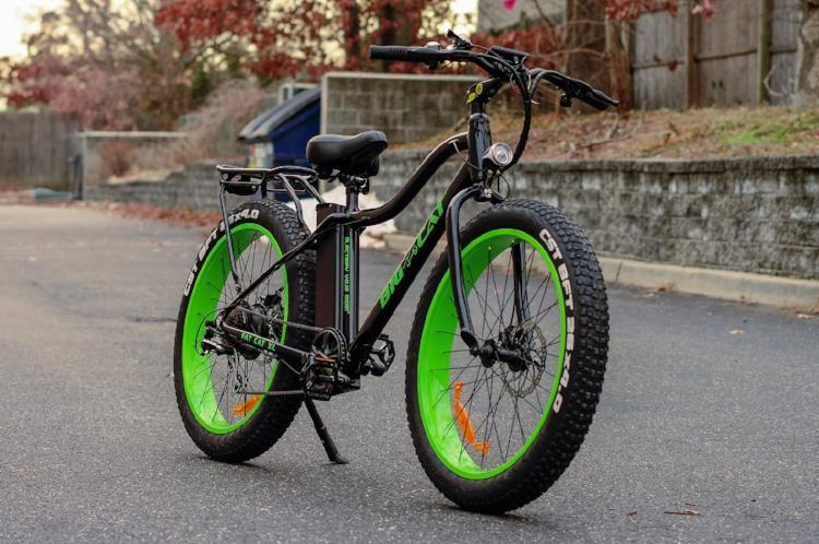 Big Cat Fat Cat XL 500 48V Green Street Fat Tire eBike l Watt Fleet