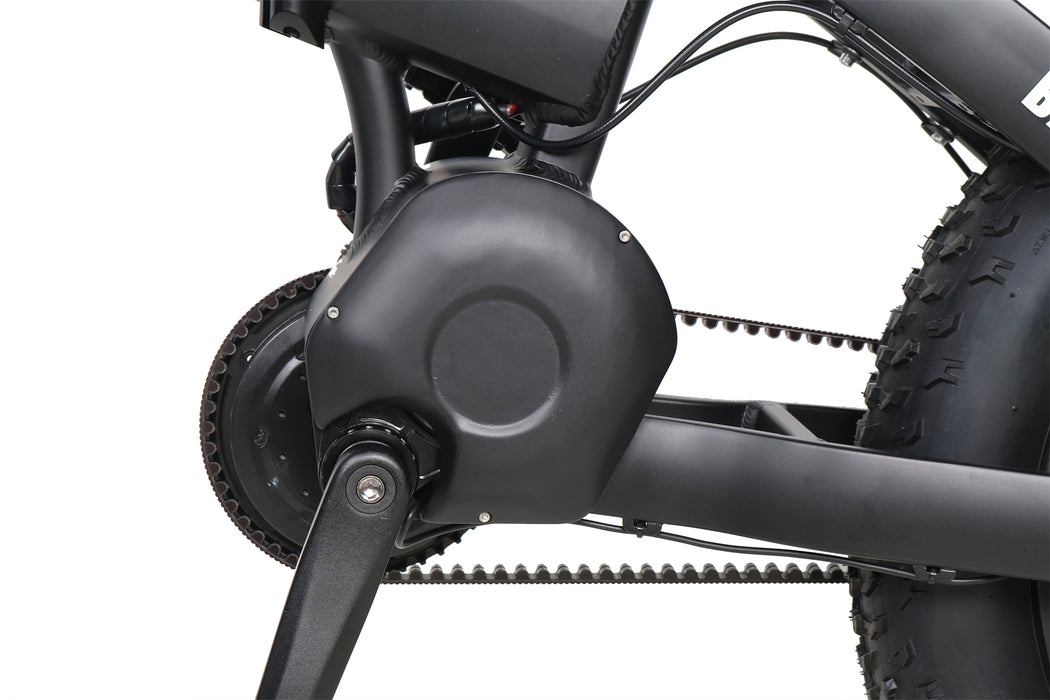 QuietKat Bandit Folding eBike encased motor l Watt Fleet