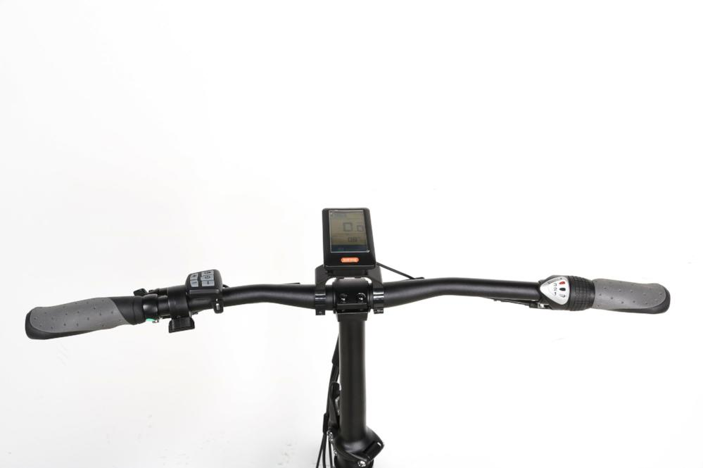 QuietKat Bandit Folding eBike LCD screen l Watt Fleet