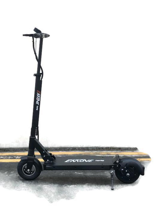 EMOVE Touring 350W-500W Black Foldable and Portable eScooter l Watt Fleet