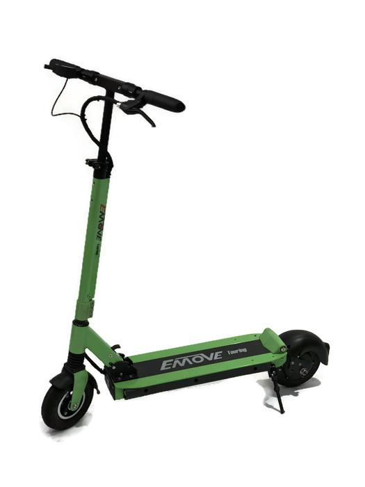EMOVE Touring 350W-500W Green Foldable and Portable eScooter l Watt Fleet
