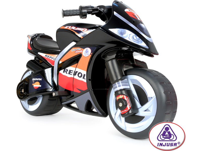 Injusa Repsol Wind Kids Motorcycle 6v Electric Ride-on Toy l Watt Fleet