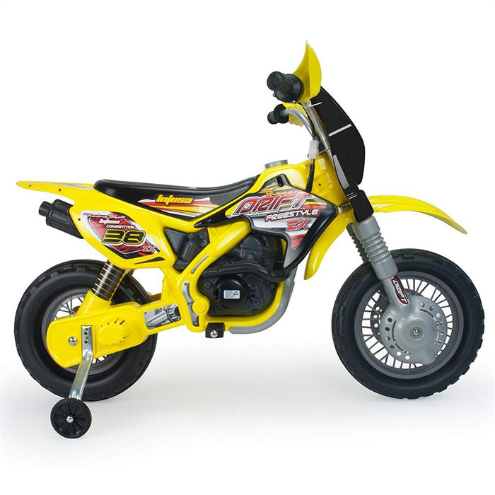 Beste Injusa Drift ZX 12v Kids Dirt Bik Electric Ride-on Toy l Watt Fleet RM-29