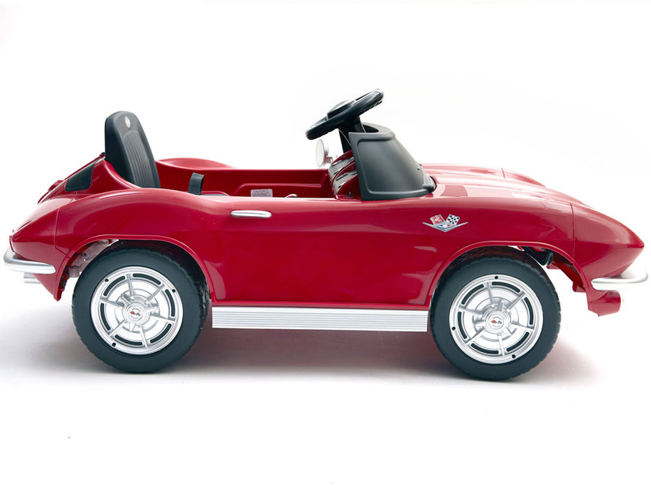 Kalee Corvette Stingray 12v Electric Ride-on Toy l Watt Fleet