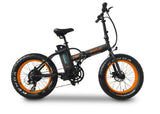 Emojo Lynx Folding Fat Tire eBike Orange l Watt Fleet