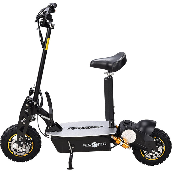 MotoTec 2000W 48V w/Seat Electric Scooter l Watt Fleet