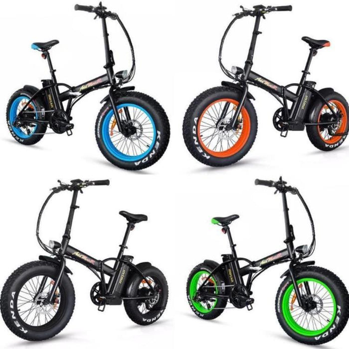 Addmotor Motan M150 Fat Tire 500W Folding Electric Bike All l Watt Fleet