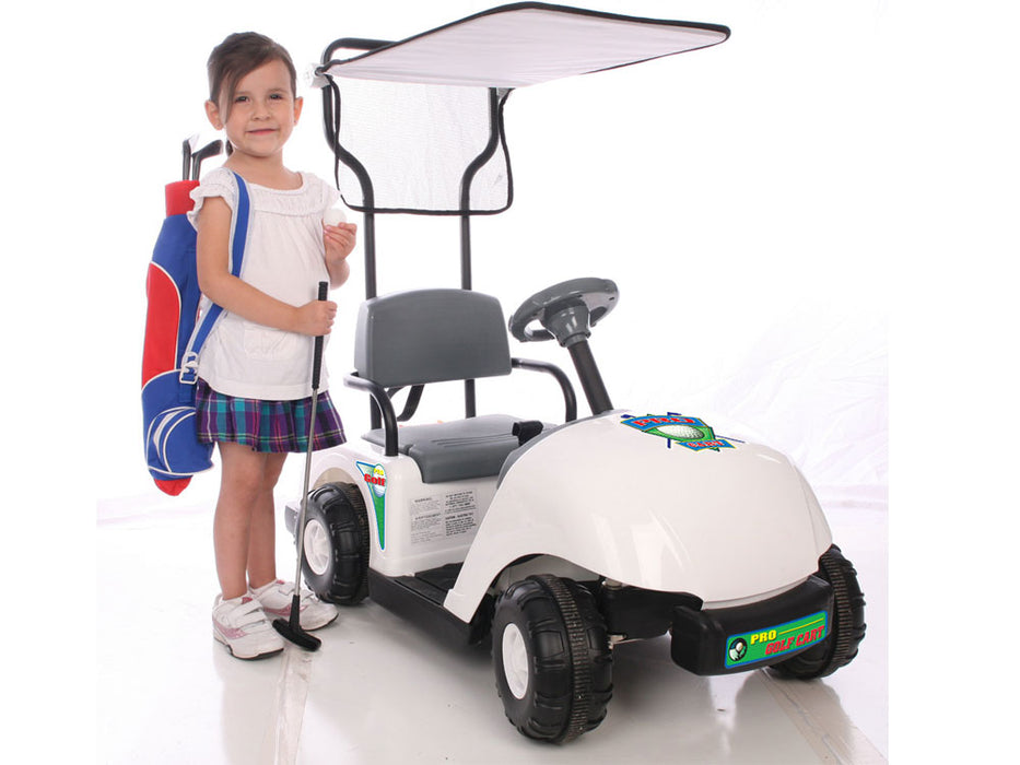 NPL Junior Golf Cart 6v Electric Ride-on Toy l Watt Fleet