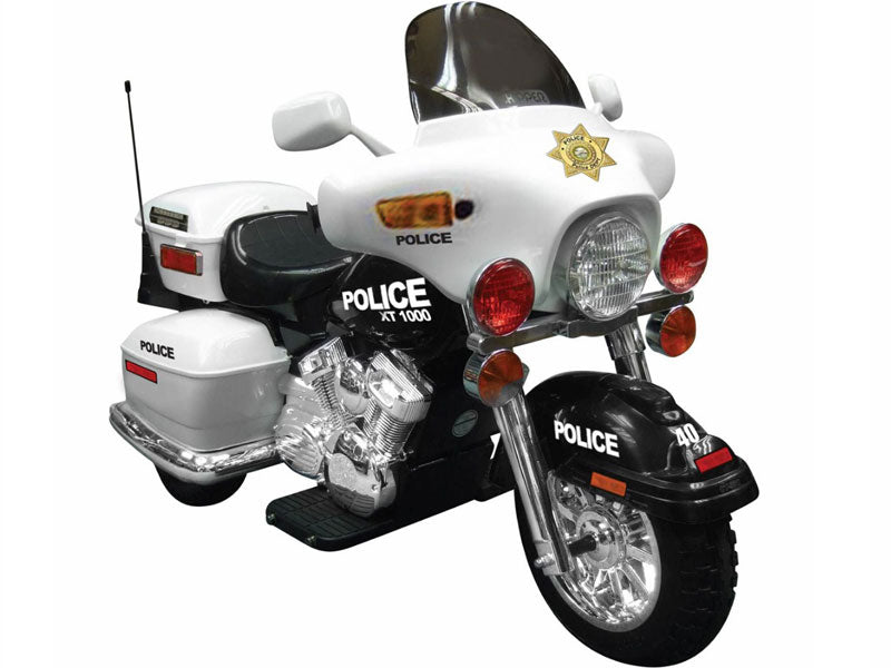 NPL Police Patrol Motorcycle 12v Kid Electric Ride-on Toy l Watt Fleet
